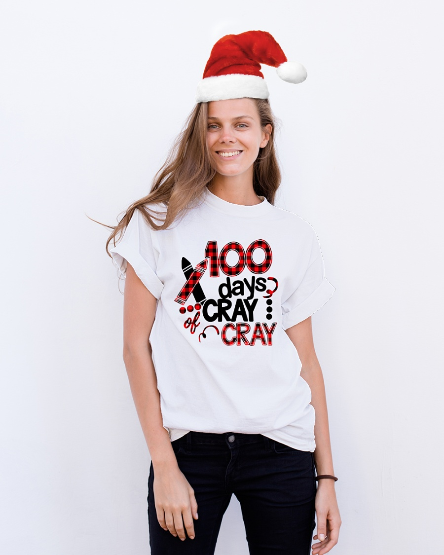 100 Days Of Cray Cray Teacher Shirt