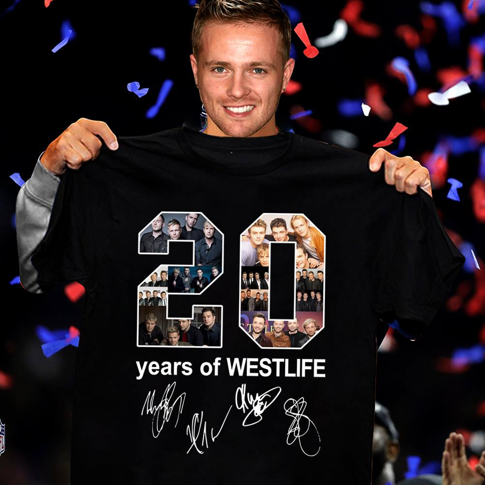 20 Years Of Westlife T-shirt