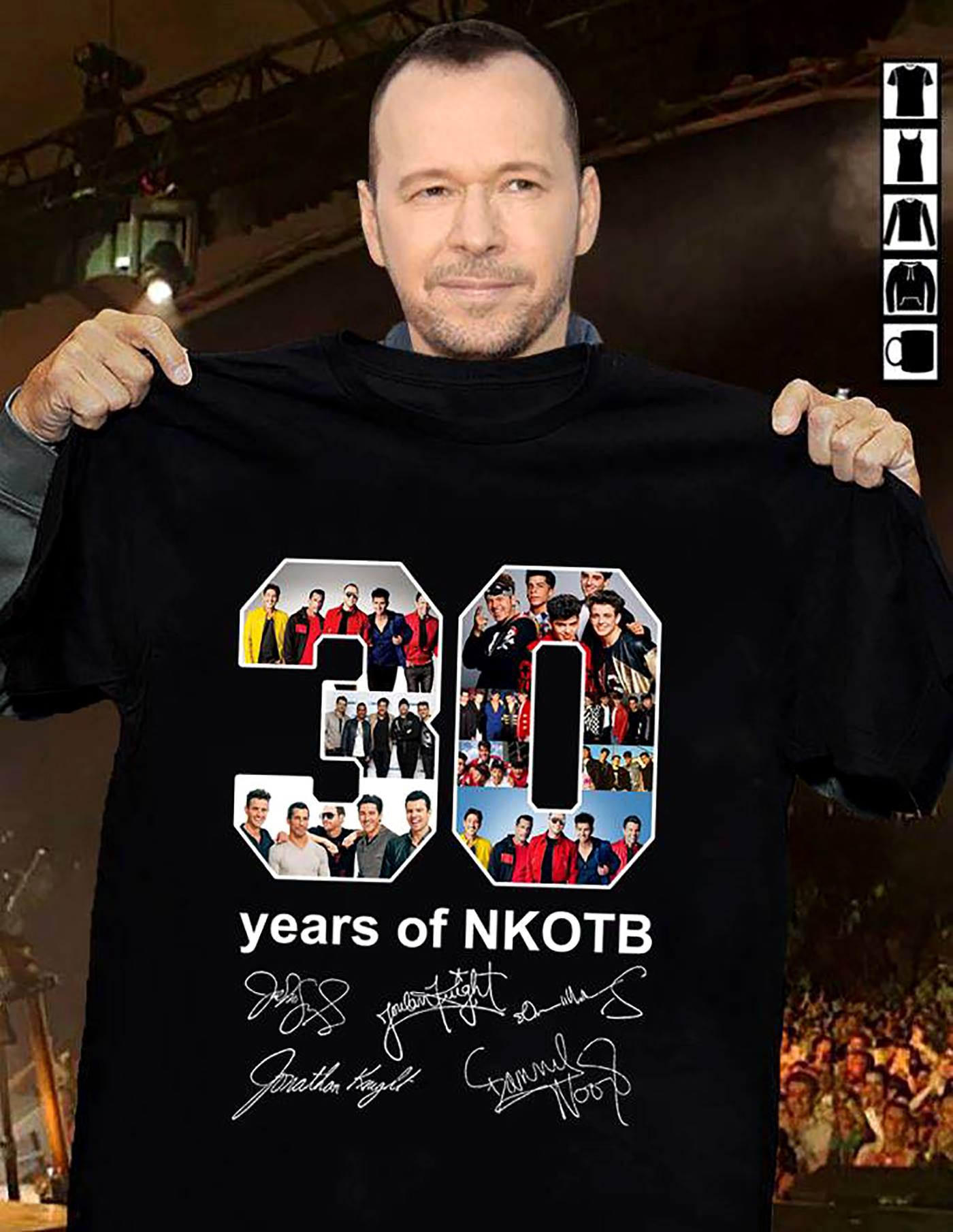 30 Years of NKOTB Signature Shirt