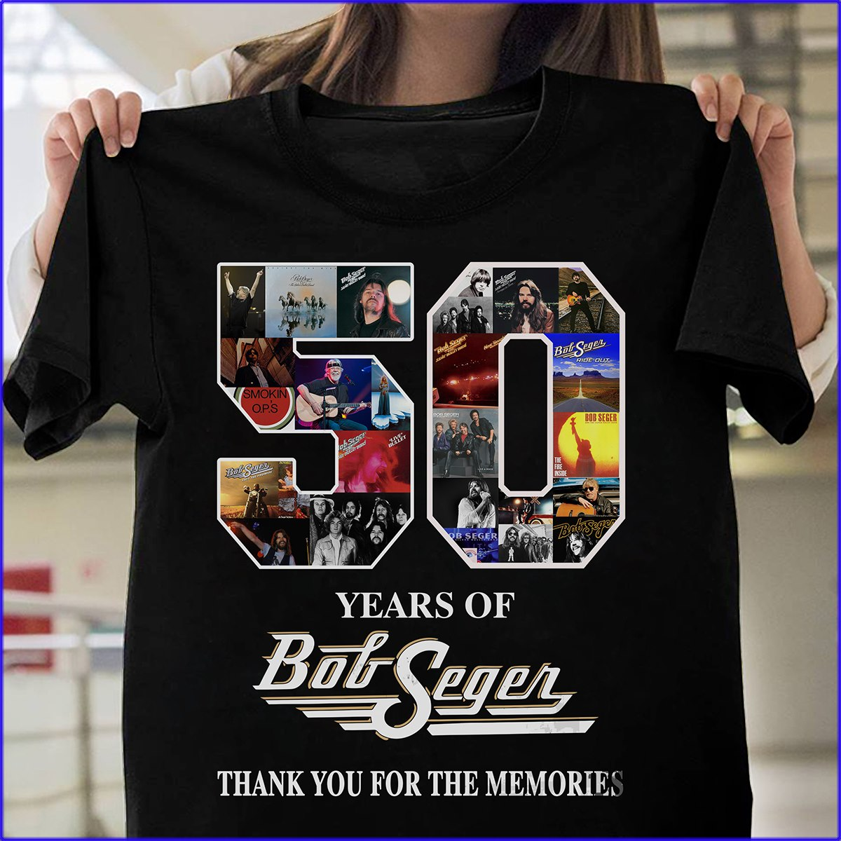 50 Years Of Bob Seger Thanks You For The Memories Shirt