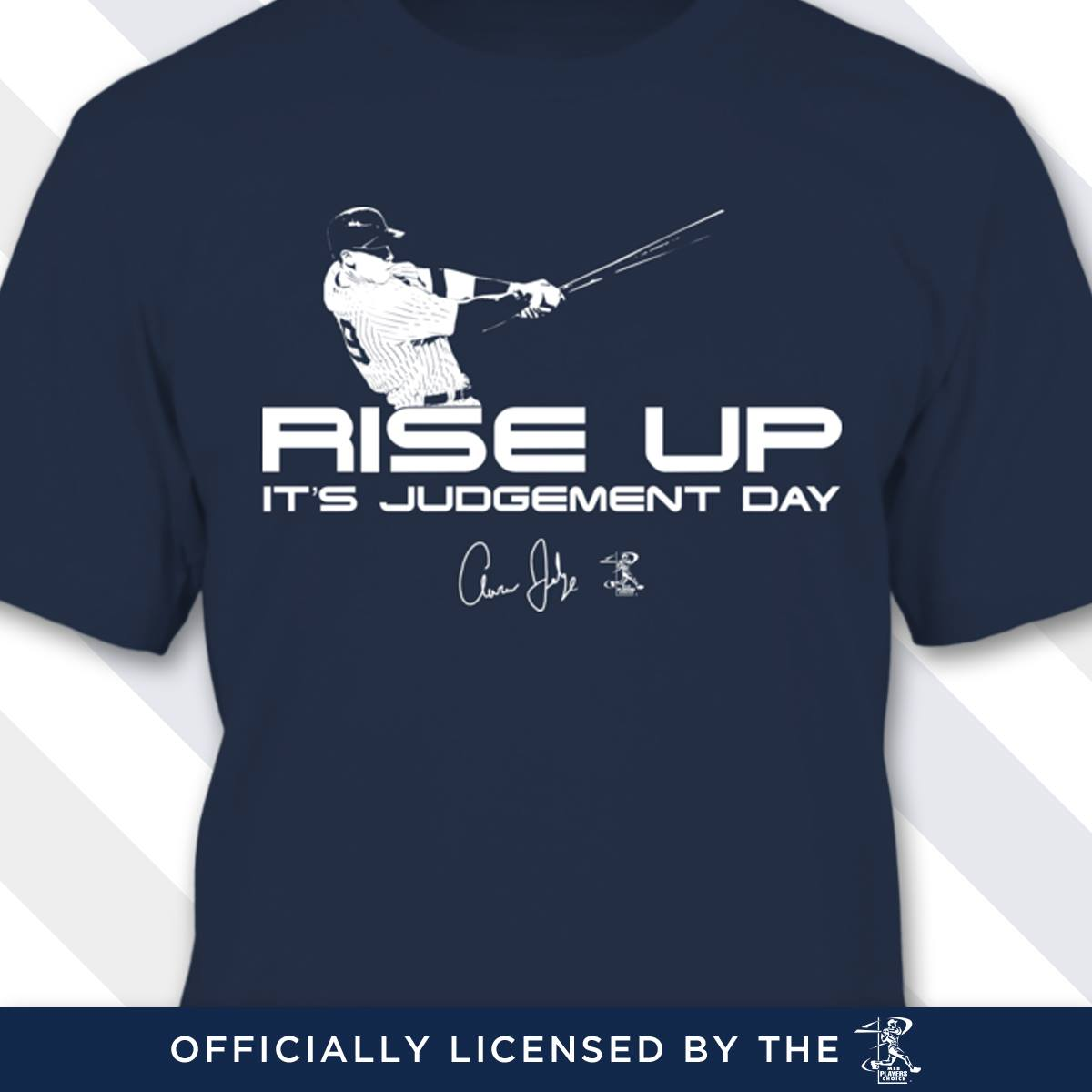 Aaron Judge Rise Up Judgement Day Shirt