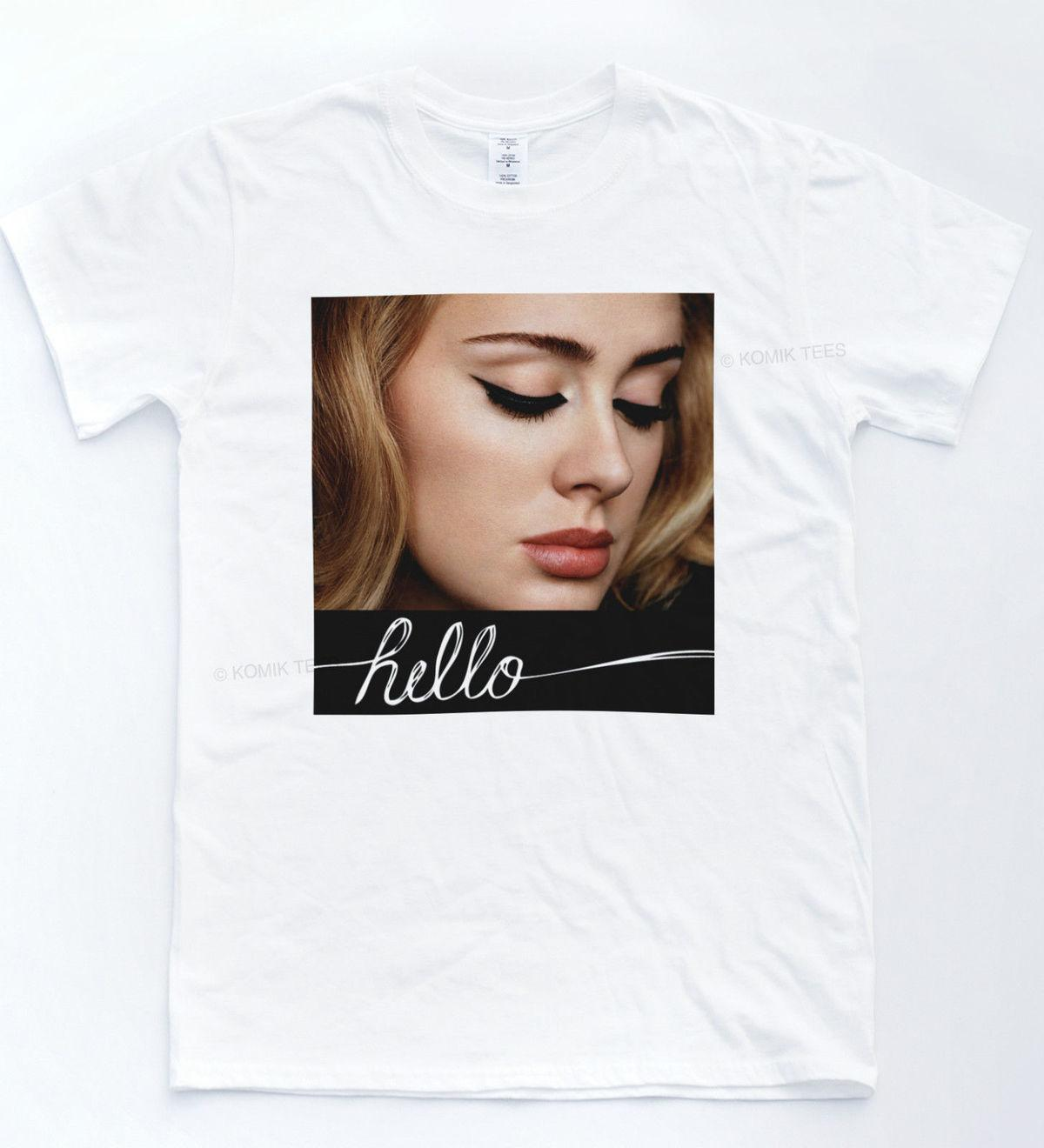 Adele 25 Album Hello Shirt