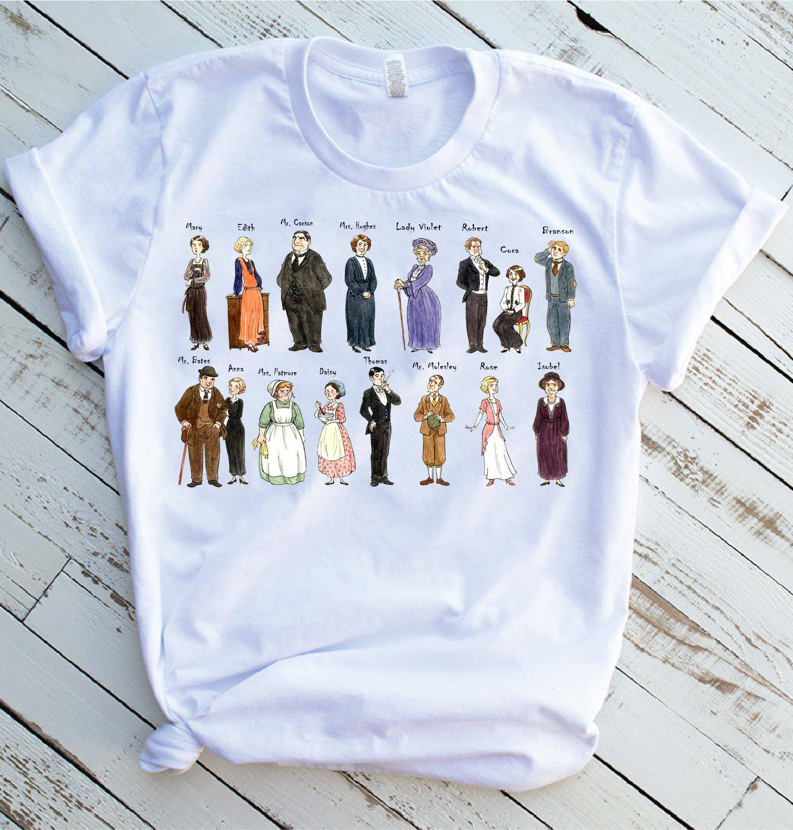All Downton Abbey Characters Shirt