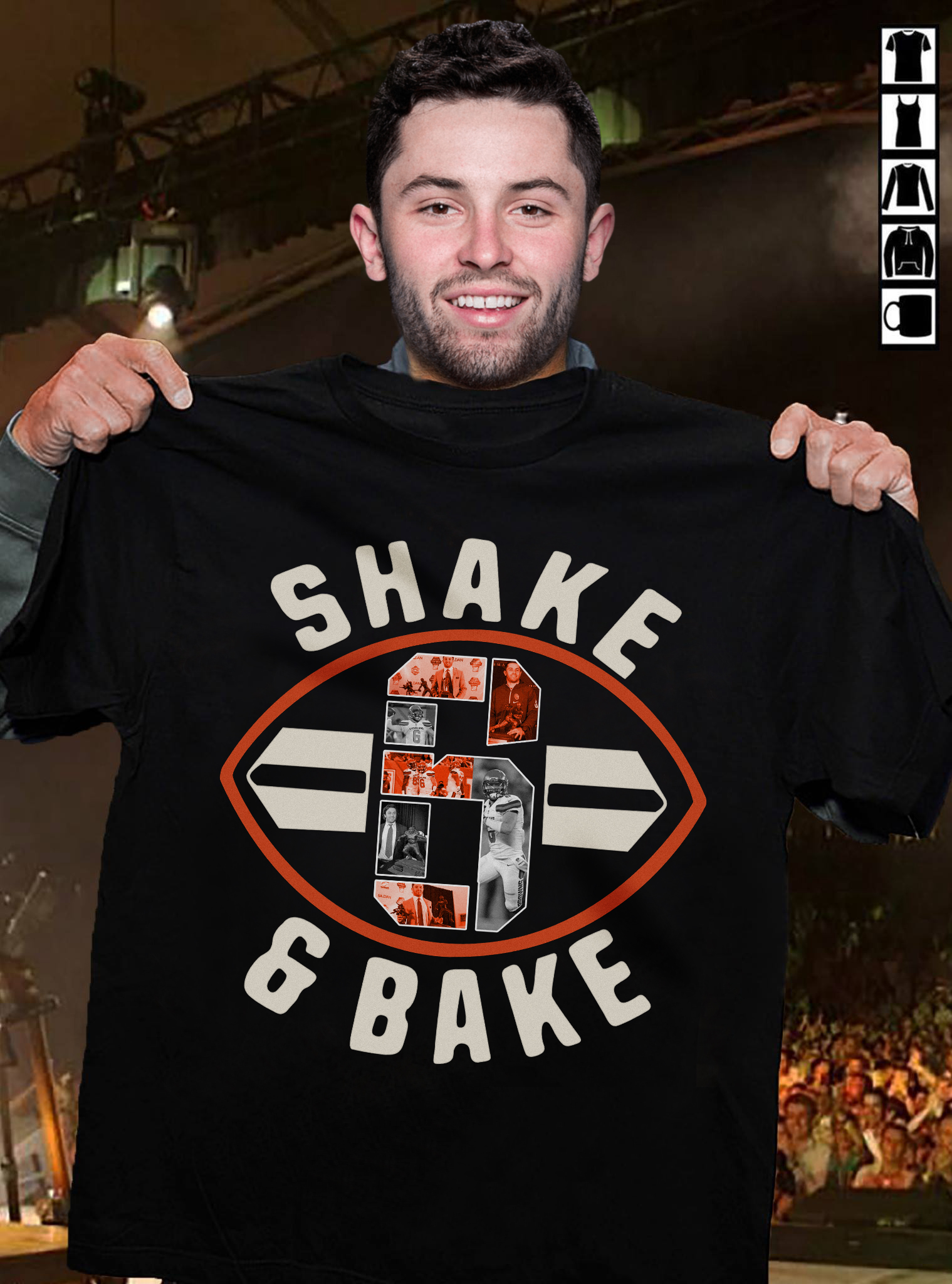 Baker Mayfield 6 Shake And Bake Football Cleveland Shirt