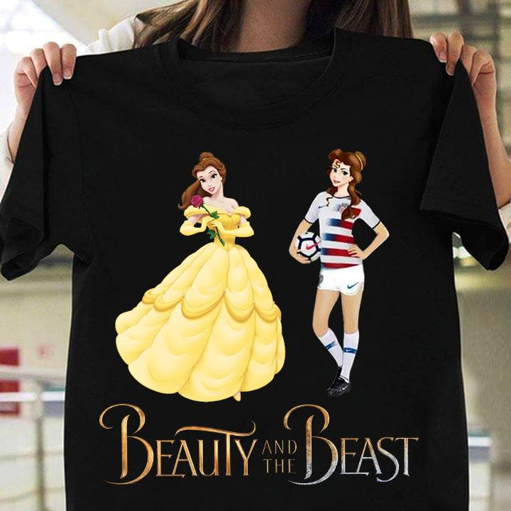 Beauty and The Beast Belle Soccer Shirt