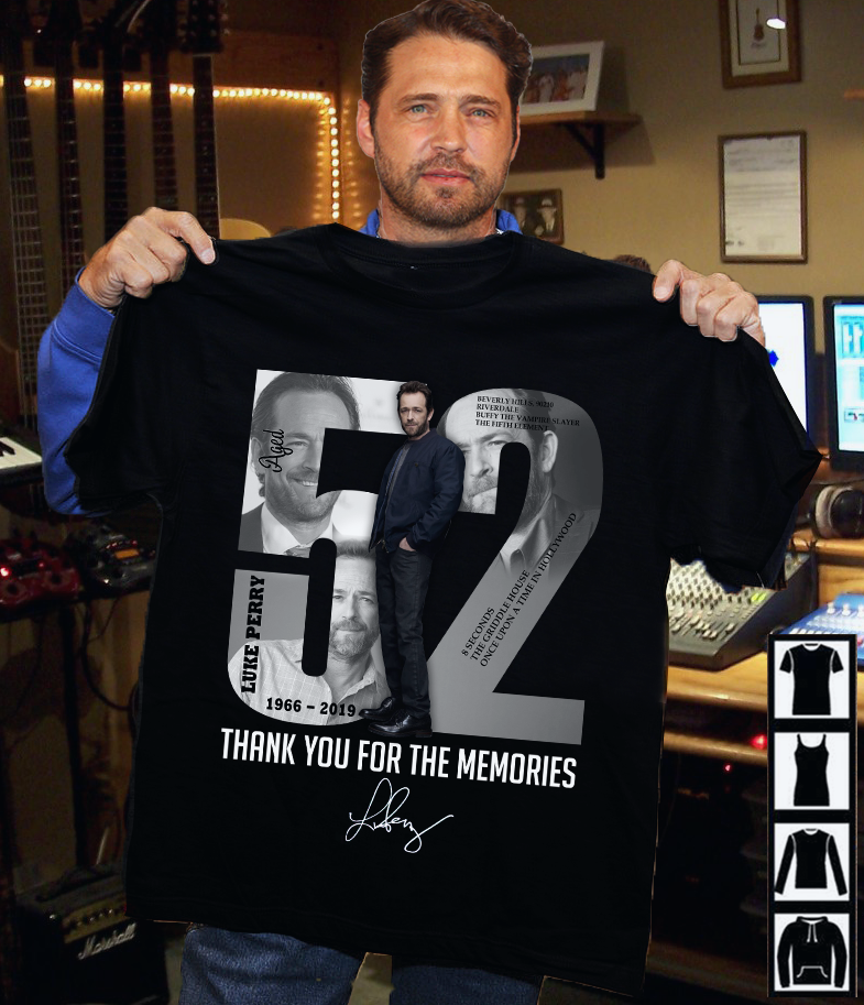 Beverly.H 90210 52 Thanks For Your Memories Signature Shirt
