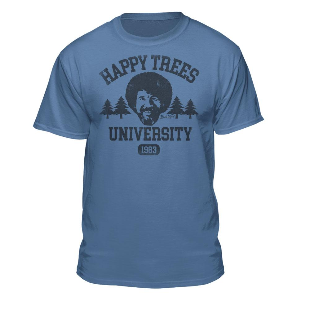 Bob Ross Happy Trees University Shirt