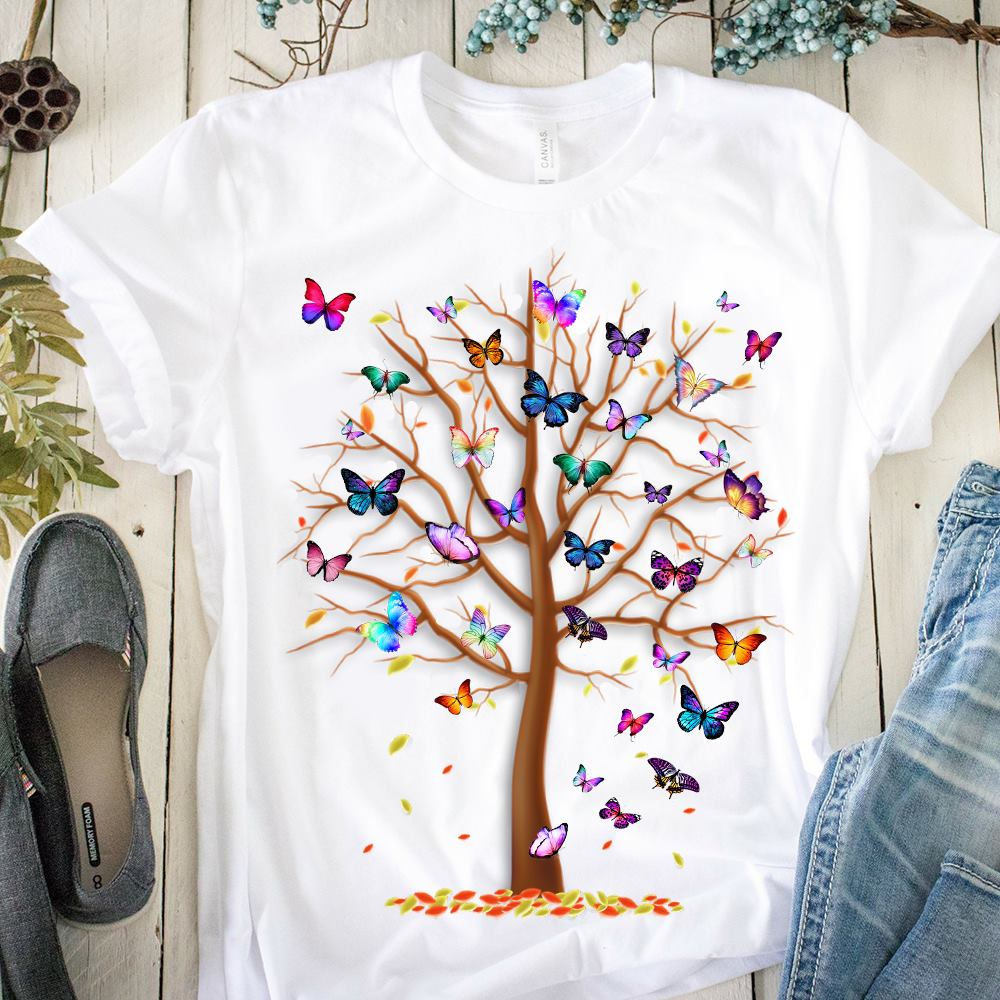 Butterfly Tree Insect Shirt