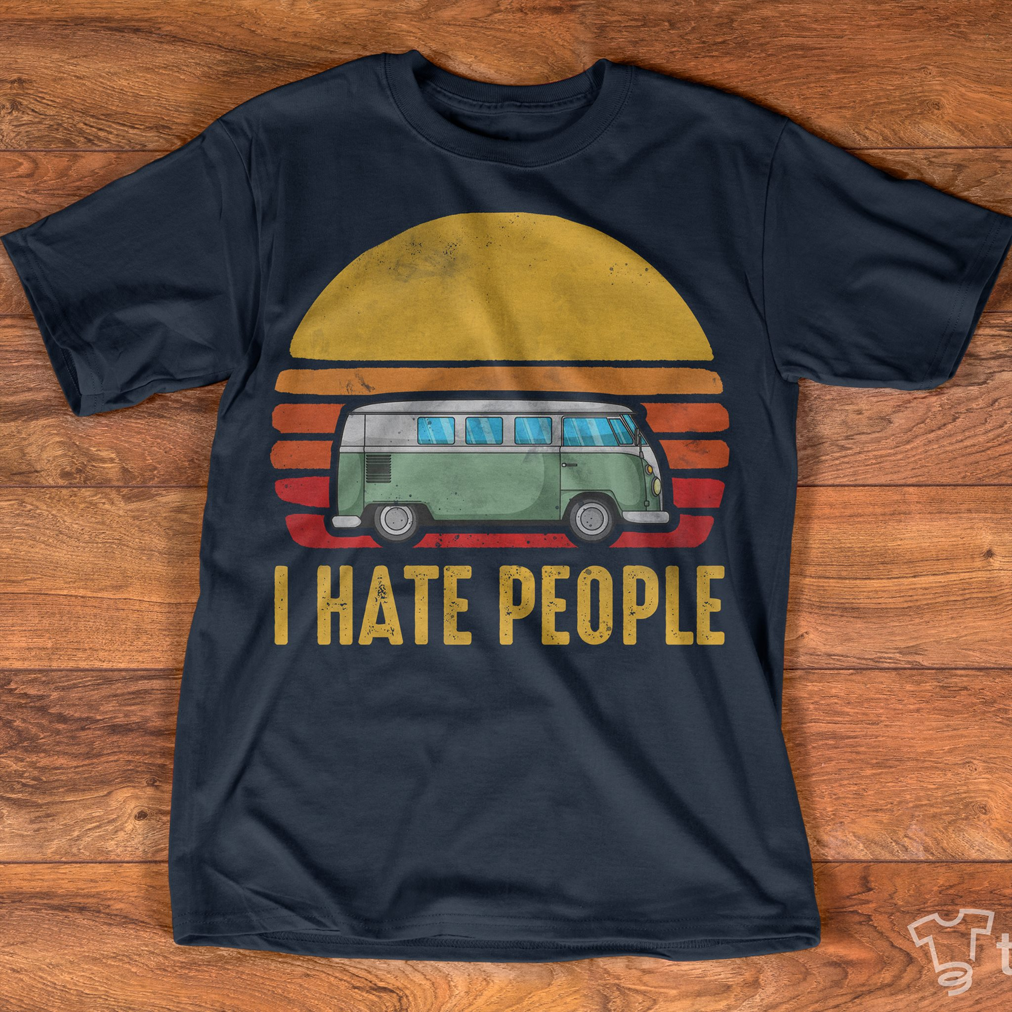 Camping Car I Hate People Shirt