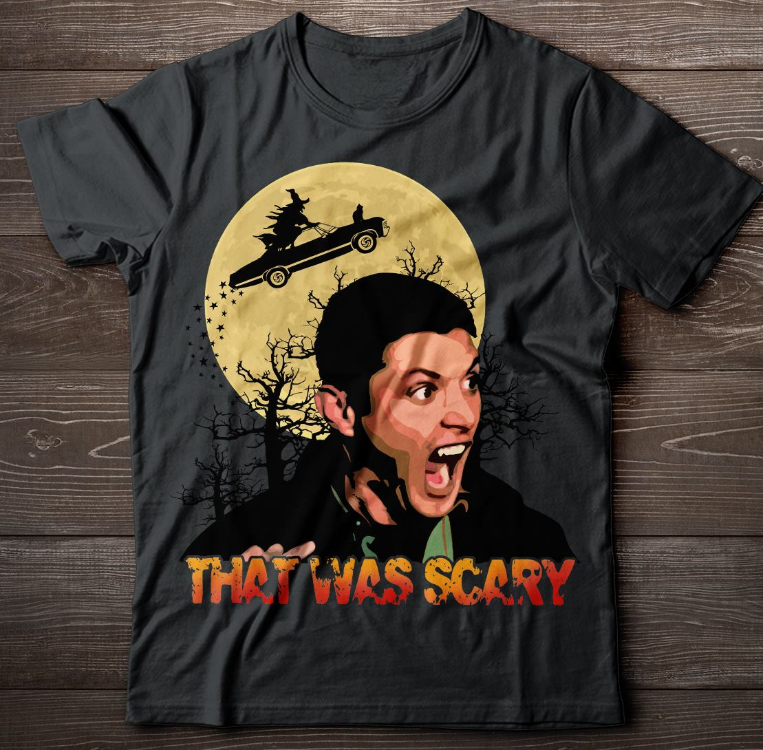 Dean Winchester That Was Scary Halloween Shirt