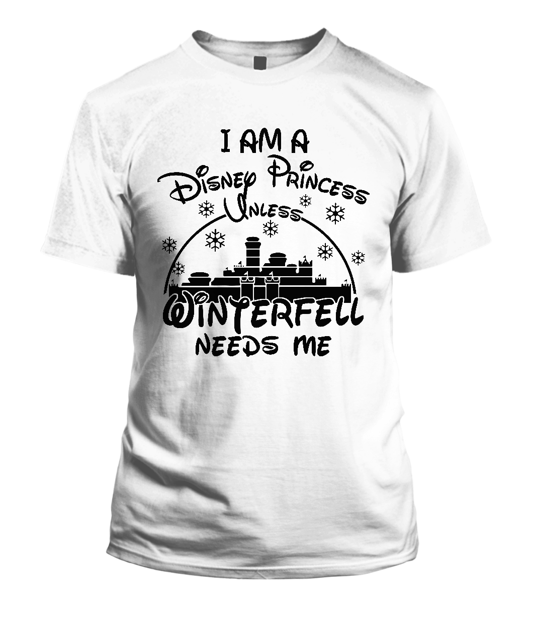 Disney Princess Winterfell T Shirt