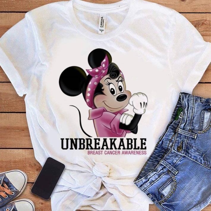 Minnie Mouse Unbreakable Breast Cancer Awareness Shirt