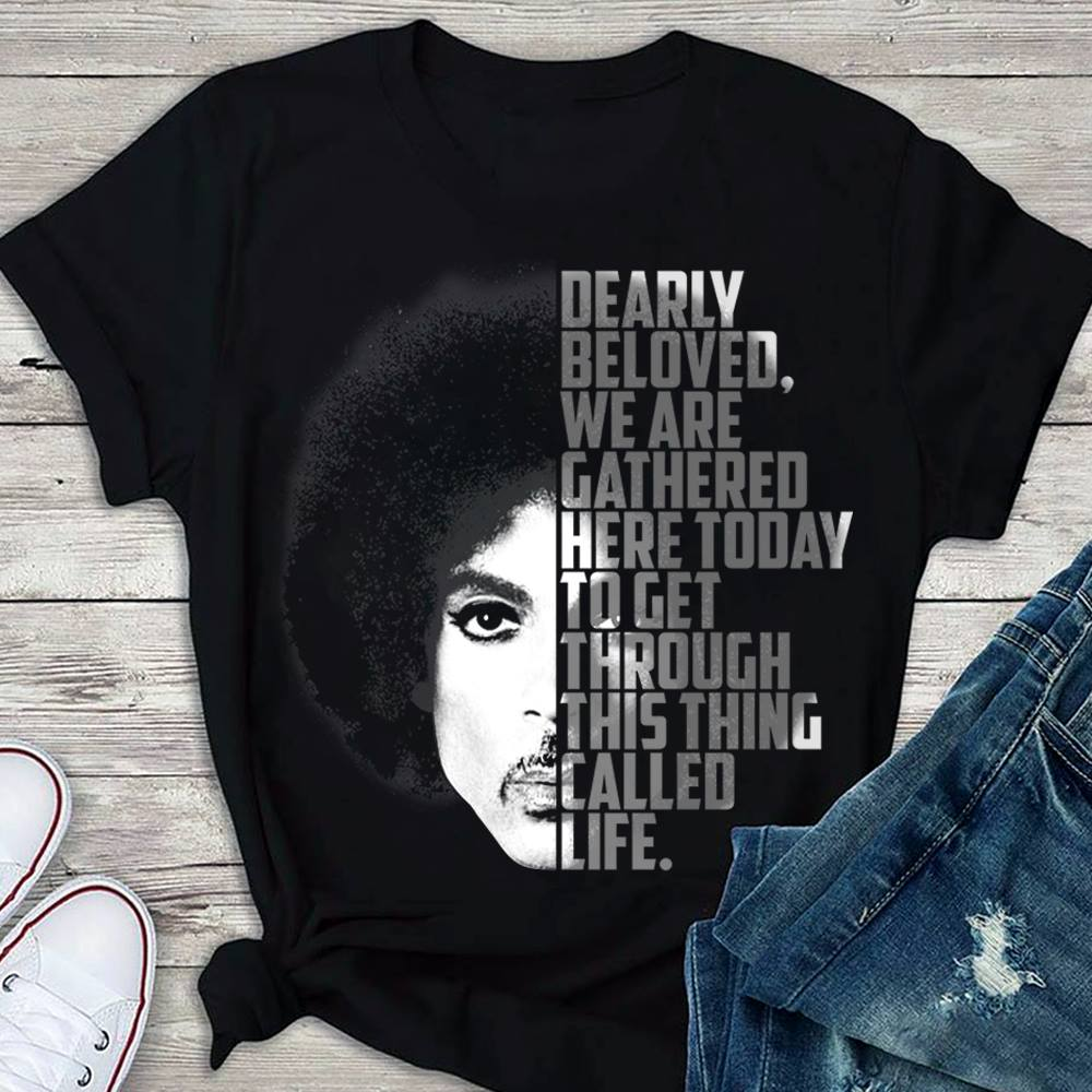 Roger Nelson Dearly Beloved We Are Gathered Here Today Shirt