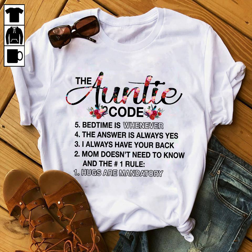 The Auntie Code Floral Shirt