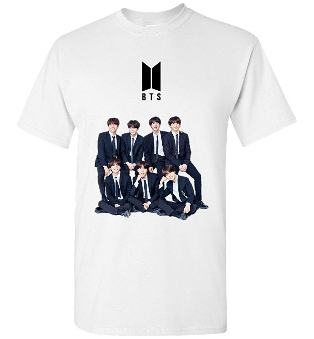The Incredible BTS Full Members Logo Shirt