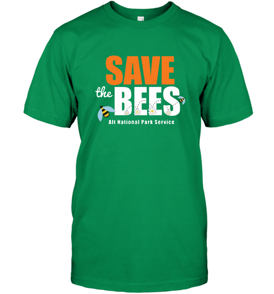 The Resistance Save The Bees Alt National Park Service T-shirt