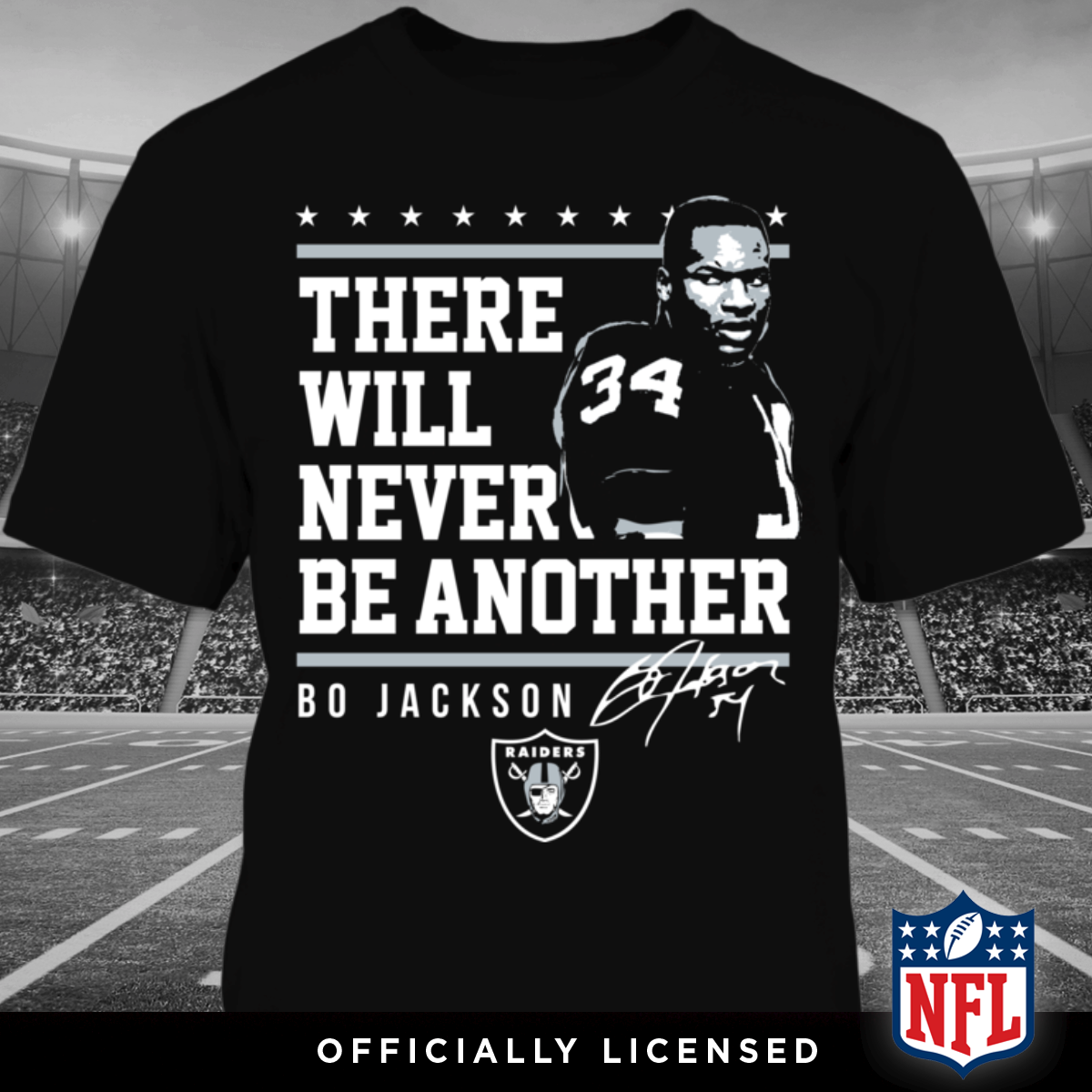 There Will Never Be Another Bo Jackson Shirt