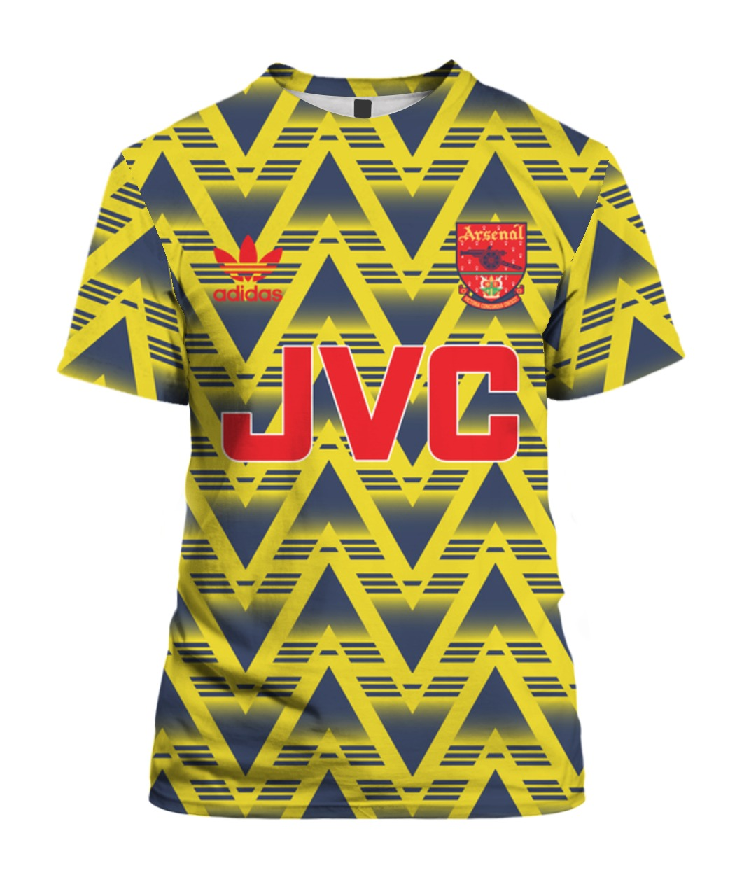 1991-93 Arsenal Away T-Shirt