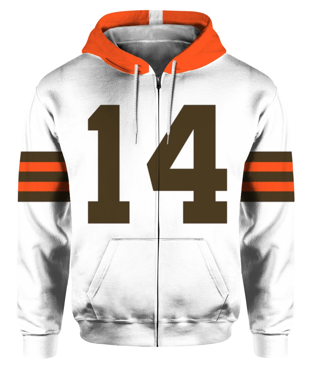 1954 OTTO GRAHAM - CLEVELAND BROWNS